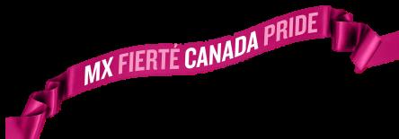canada pride banderolle